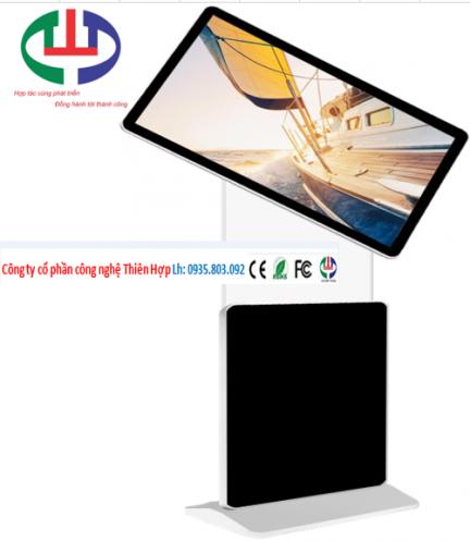 Màn hình LCD chân đứng cảm ứng xoay 360 độ