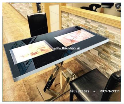 MÀN HÌNH LCD CẢM ỨNG TOUCH COFFEE TABLE 02