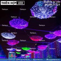 TRANG TRÍ ĐƯỜNG PHỐ TẾT BẰNG ĐÈN LED