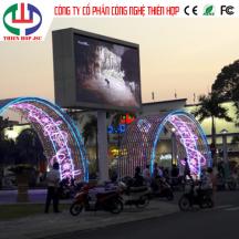 Thi Công Lắp Đặt Màn Hình LED P6 Chip Nationstar bảo hành 3 năm Thị Xã Hà Tiên