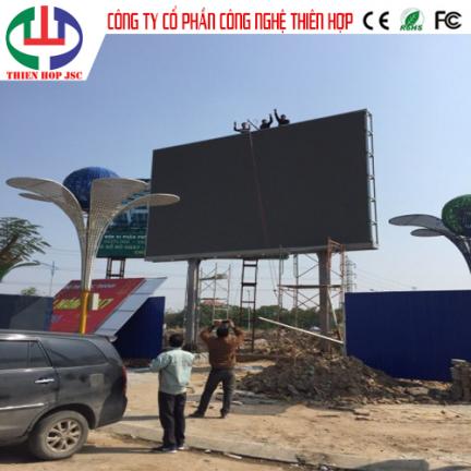Màn hình led P6 outdoor lắp đặt tại Hưng Yên