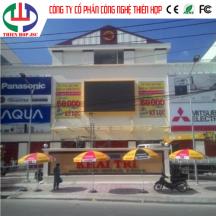 Lắp Đặt Màn hình LED P6SMD 3535ngoài trời Trung Tâm Thương MạiKhai Trí T.P Vĩnh Long