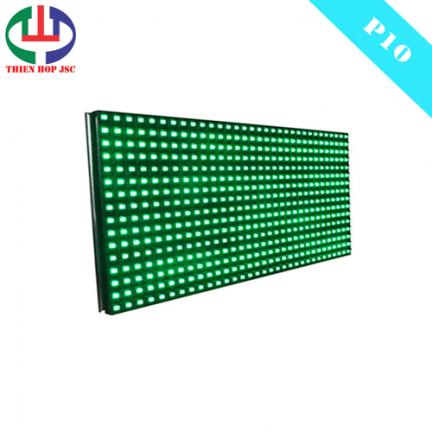 Module P10 - Màu xanh lá - Ngoài trời