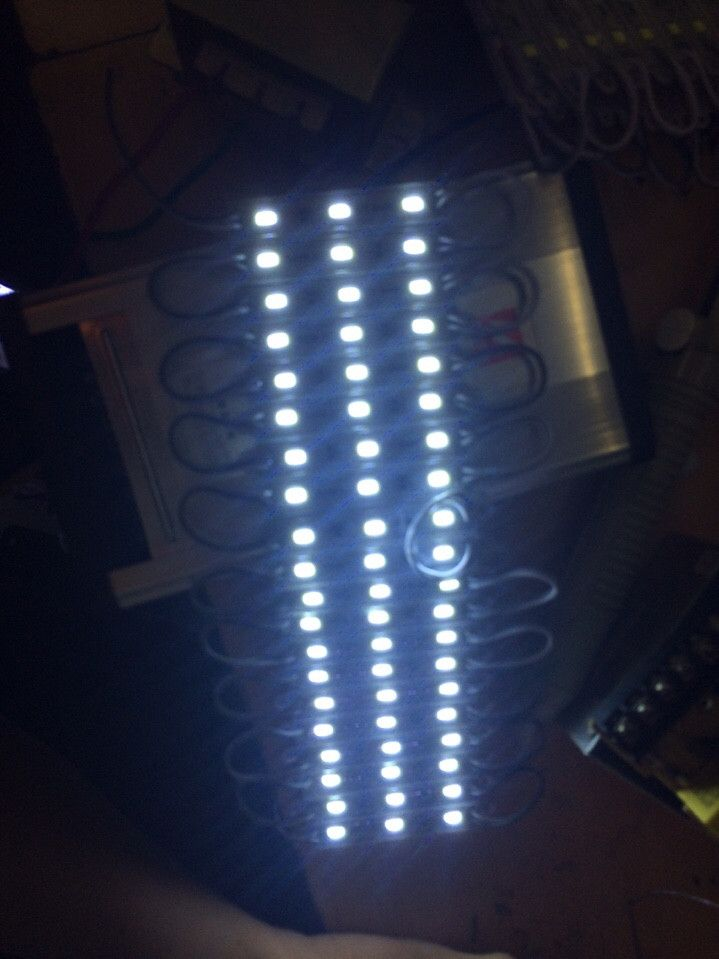 led hat sang xanh