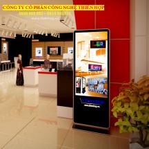 CHO THUÊ Màn Hình LCD Chân Đứng - Treo Tường - Cảm ứng Quảng Cáo 42/43/49/55/65 inch