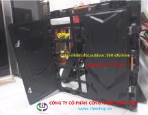Cabinet LED NHÔM ĐÚC NGOÀI TRỜI 960 x 960