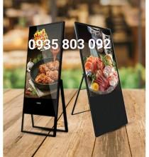 MÀN HÌNH QUẢNG CÁO LCD CHÂN ĐỨNG 42/43 INCH
